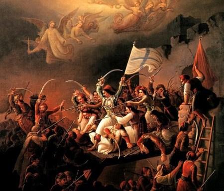 """10 ΑΠΡΙΛΙΟΥ 1826: Η ηρωική έξοδος των """"Ελεύθερων Πολιορκημένων"""" του Μεσολογγίου"""