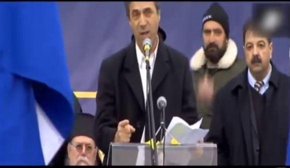 Η ομιλία του Κώστα Καραΐσκου στο Συλλαλητήριο Θεσσαλονίκης για τη Μακεδονία, 21 Ιανουαρίου 2018