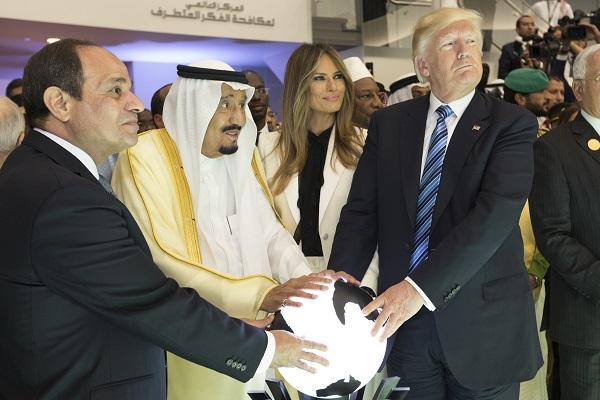 US-Präsident Trump in Riad