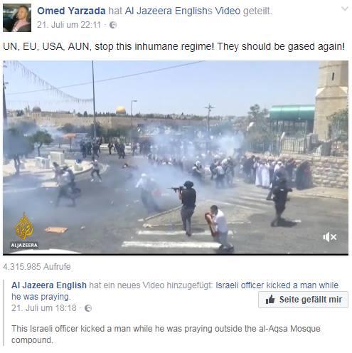 Omed Yarzada, Antisemit