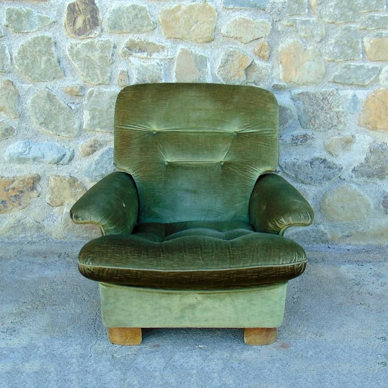 Prezzo riferito alla coppia, vendibili anche singolarmente. Poltrona Vintage Modernariato Italia 1960