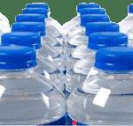 Bottiglie dell'acqua minerale