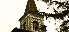 Un particolare del campanile