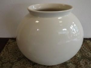 Vaso in ceramica di Laveno anni 30