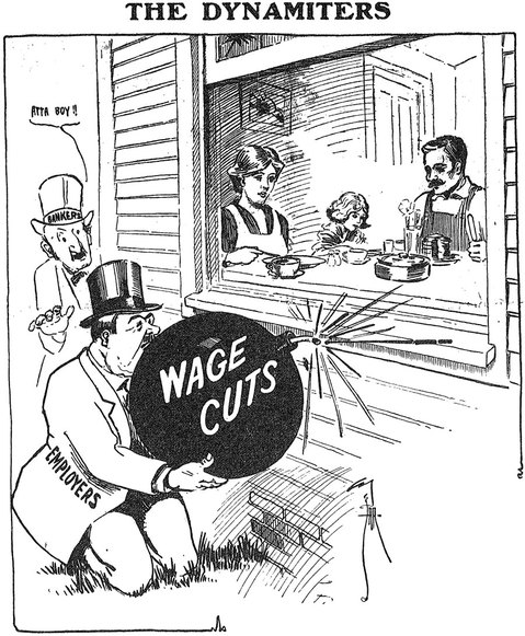 capitalism wage cuts