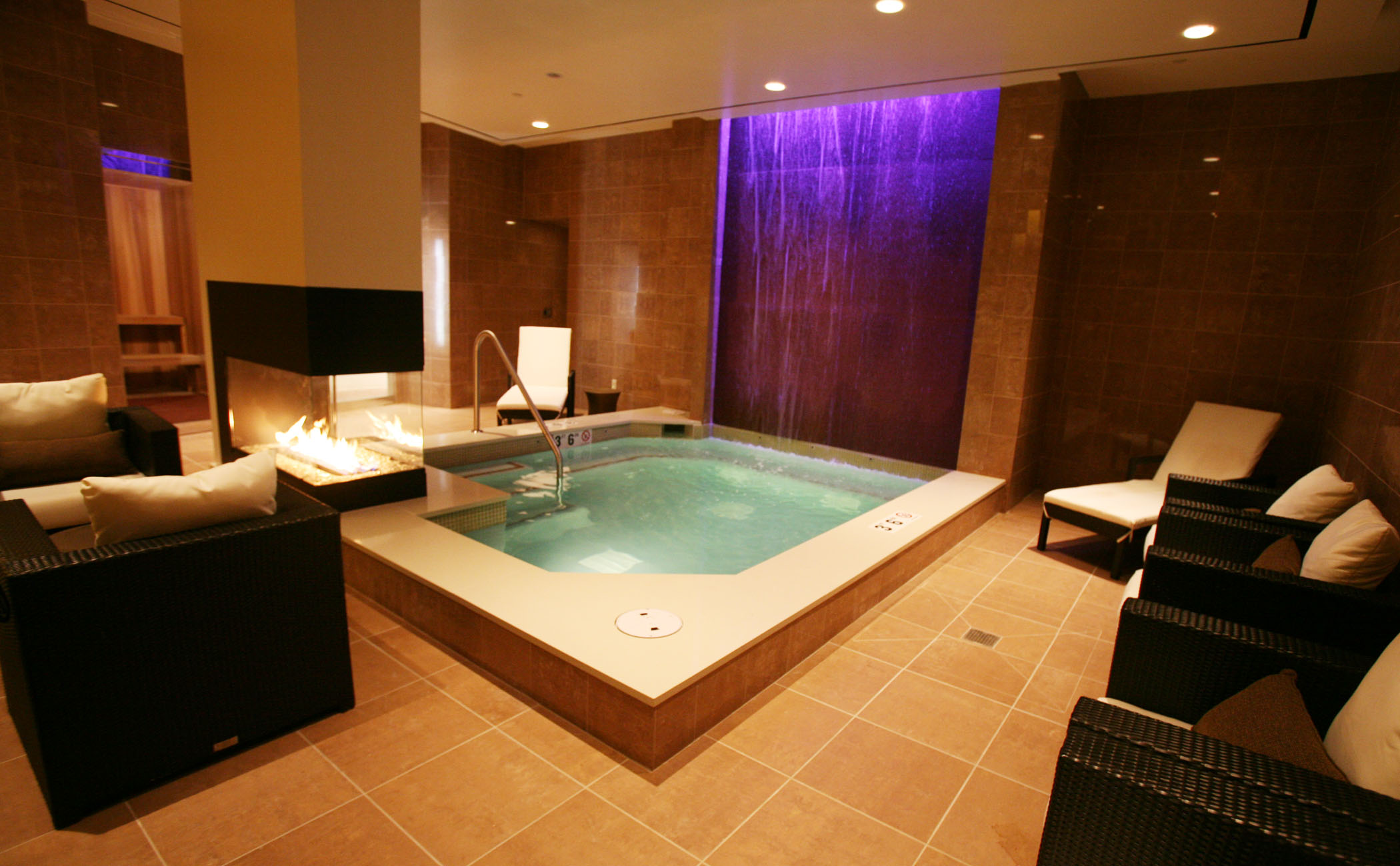 Relaxing Spa Setting
