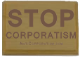anticorporatism.com stamp spread the word
