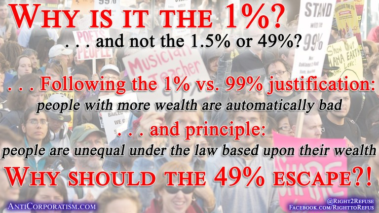 Why is it the 1%?