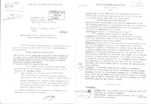 Nos statuts à la création 18/04/91