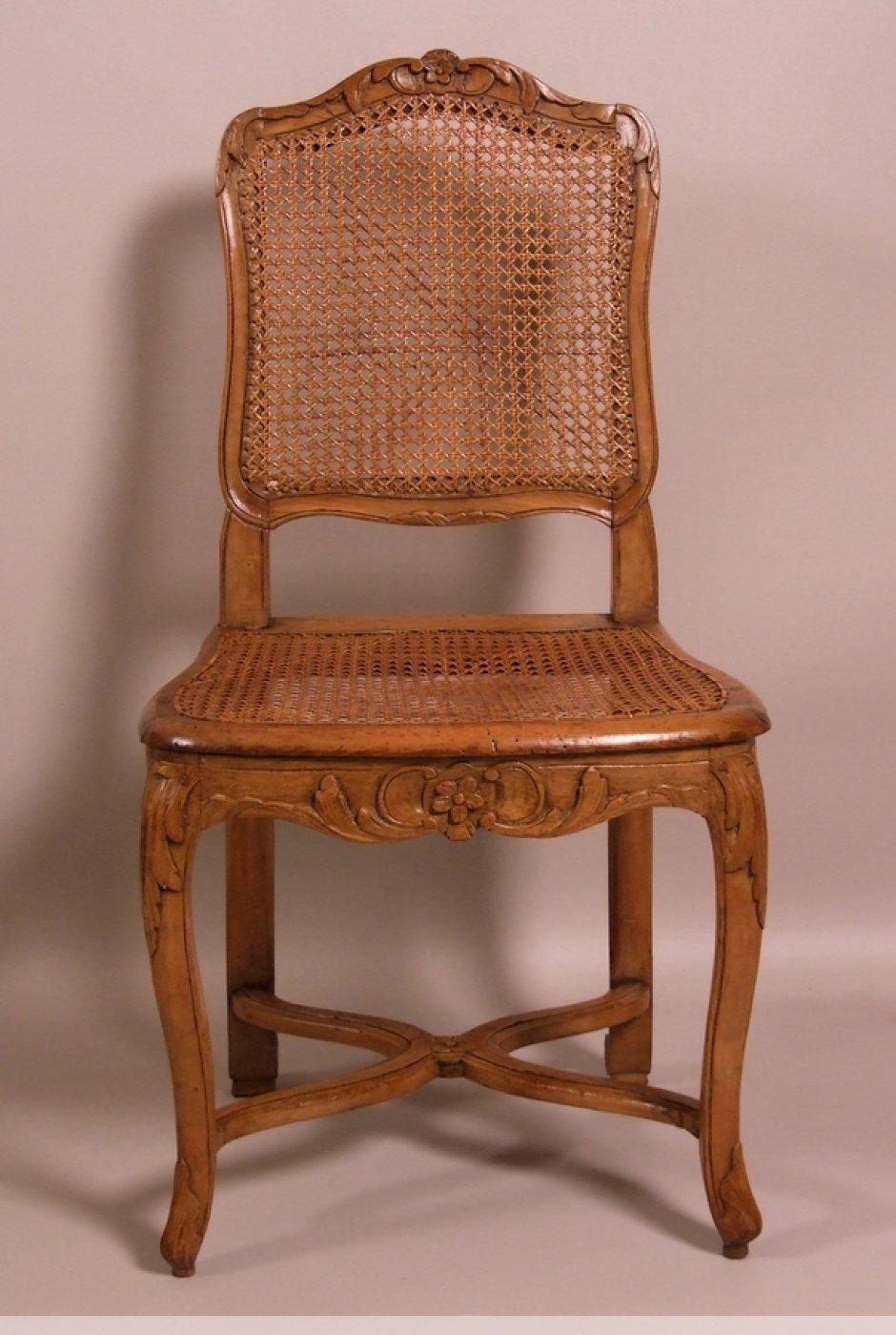 7 chaises cannees d epoque louis xv