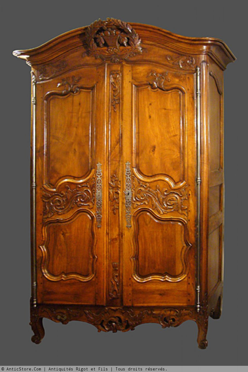 Armoire Provenale XVIIIe Sicle N3979