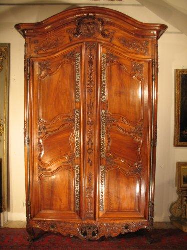 Armoire Louis XV Antiquits Sur Anticstore XVIIIe Sicle