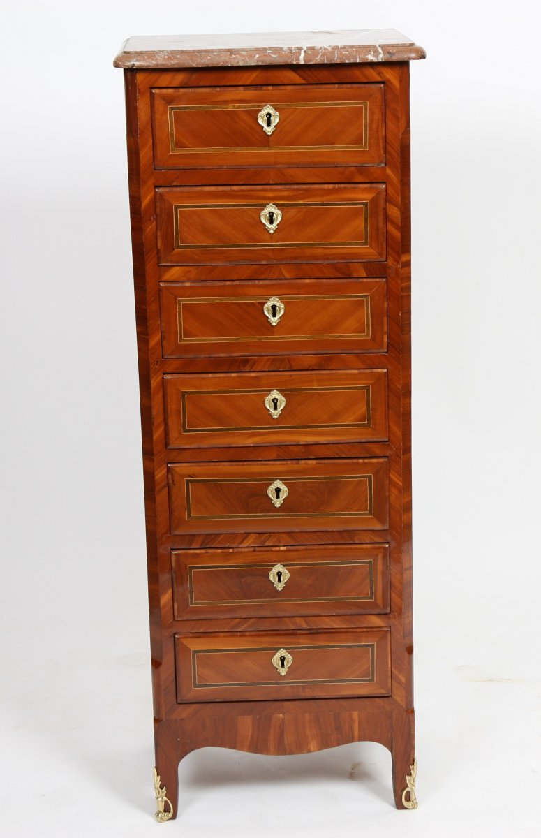 Semainier Louis XV XVIIIe Sicle N55991