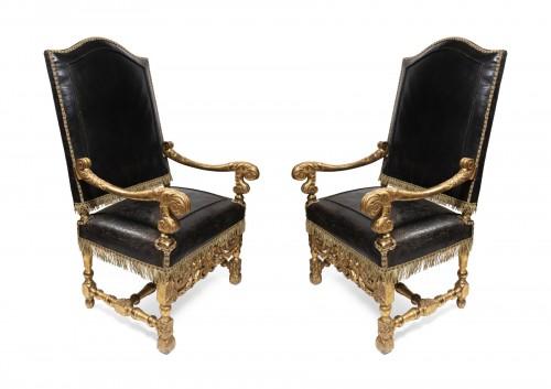 fauteuil bergere louis xiii