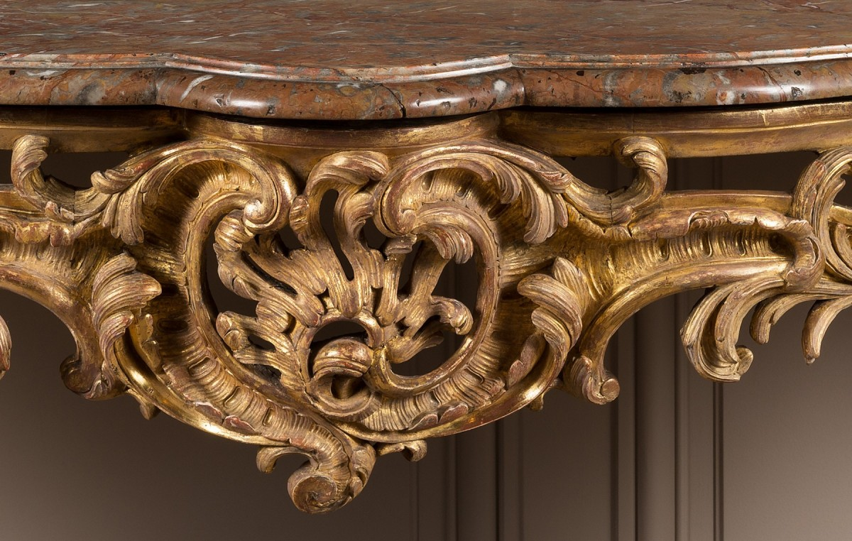 exceptional louis xv period console