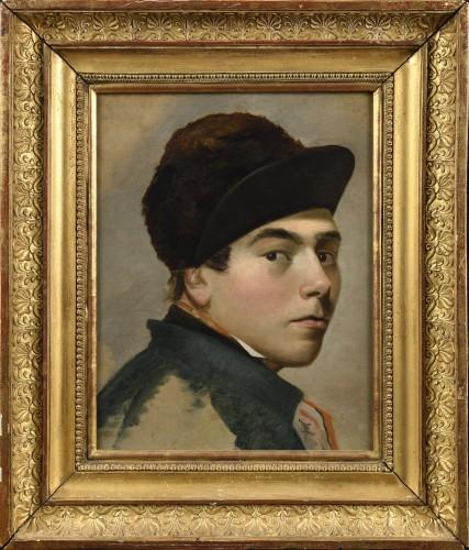 theodore canneel 1817 1892 portrait d un jockey