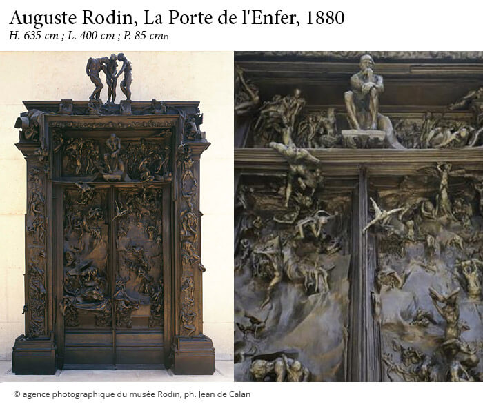 L Enfer selon Rodin   Article   AnticStore Porte de L Enfer   Rodin