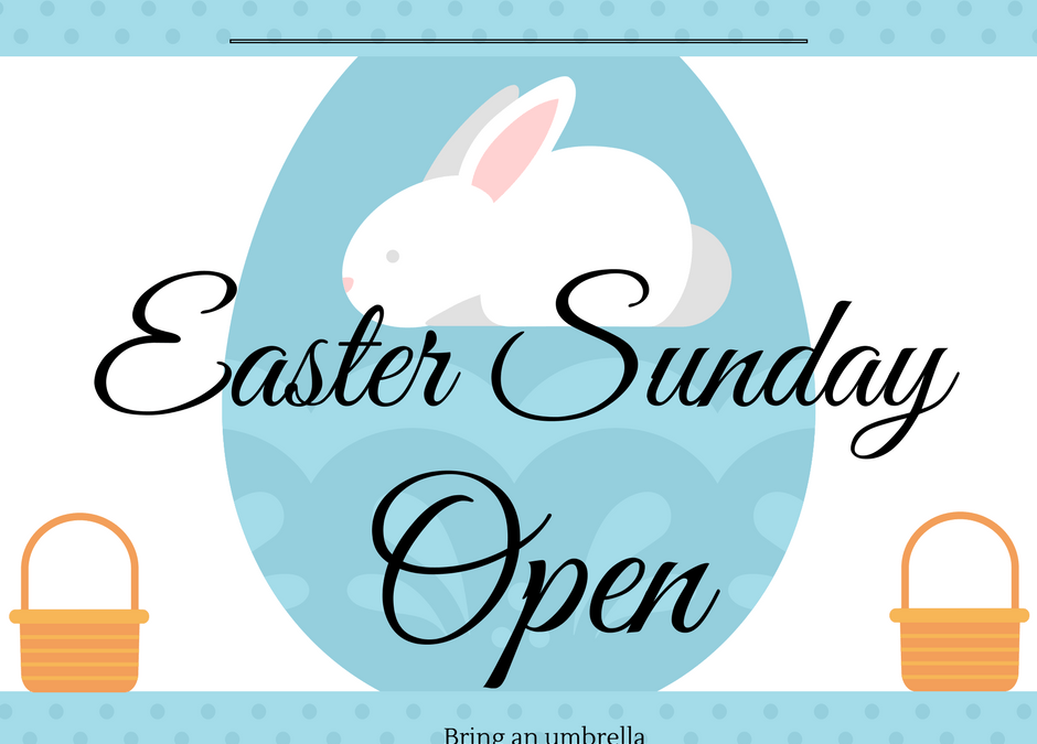 Easter Sunday 16th April open