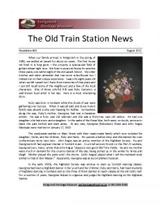2012 08 newsletter