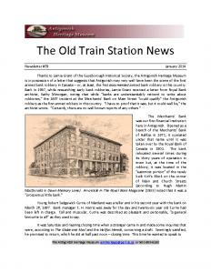 2014 01 newsletter
