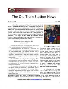 2015 06 Newsletter