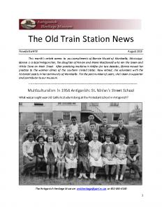 2015 08 Newsletter