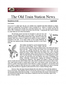 The Old Train Station News – 102
