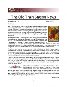The Old Train Station News -110