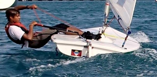 Young Antigua Sailors on the International Scene