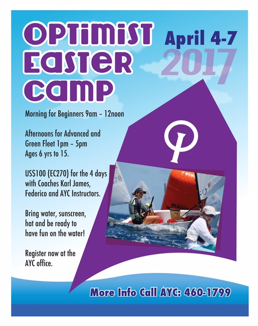 Easter Program 4th – 7th April