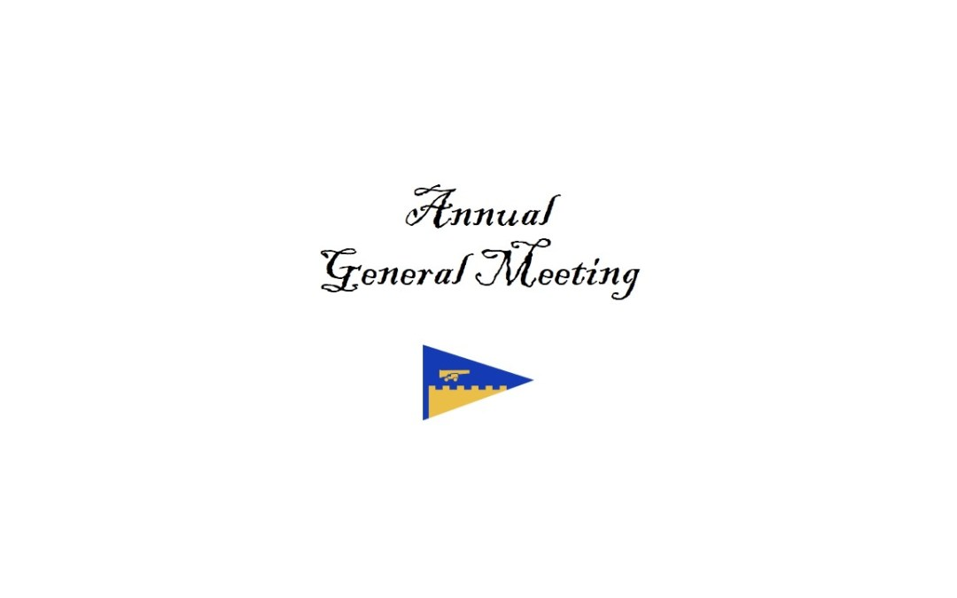 Notice Of Annual General Meeting – Tuesday 26th November 2019