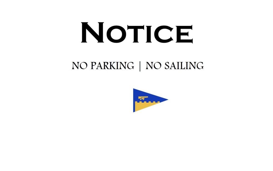 Car Park Notice – Antigua Sailing Week