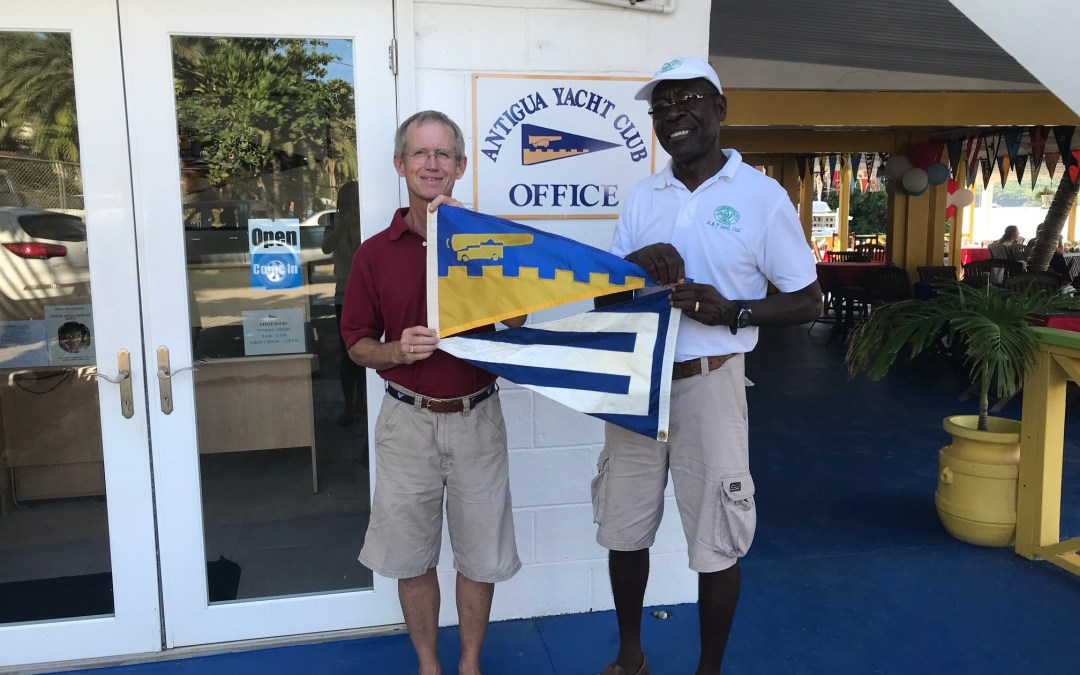 Burgee Exchange with Essex Yacht Club