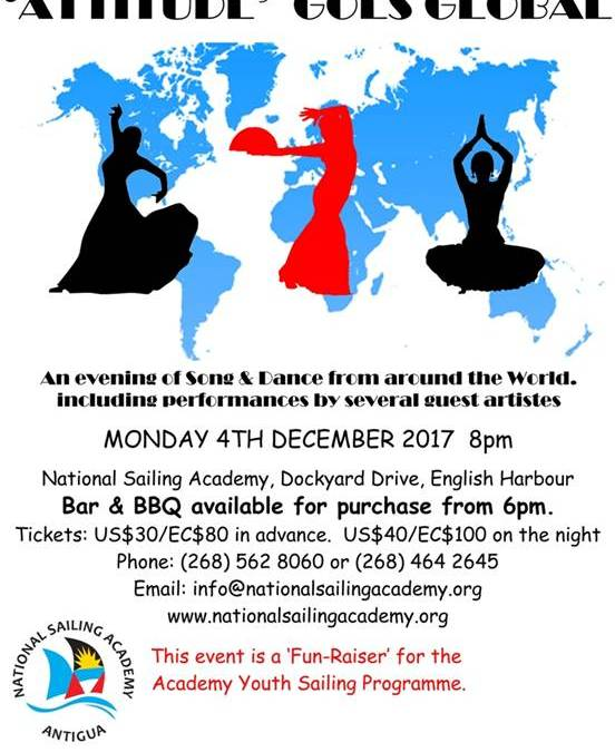 """Attitude"" Song & Dance Show by the National Sailing Academy"
