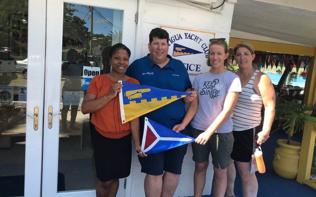 Burgee Exchange with Clear Water Yacht Club