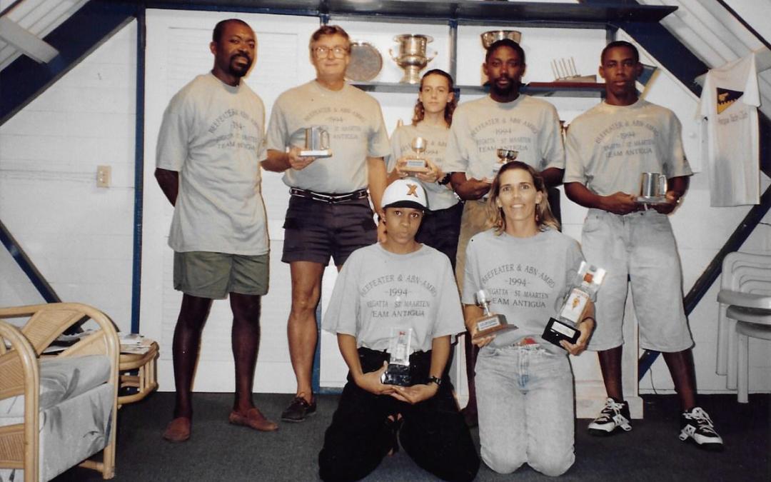 Team Antigua in 1994