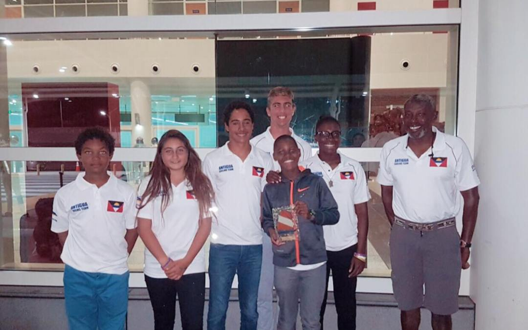 Race Results for Team Antigua from the Schoelcher Sailing Week in Martinique