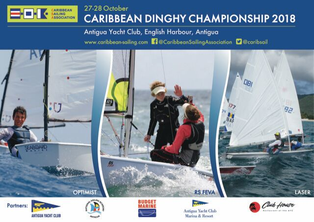 Caribbean Dinghy Championship 2018 in Antigua