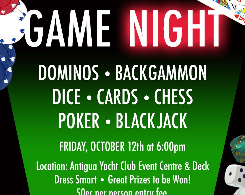 Game Night & Fundraiser for Jane Finch