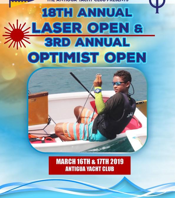 Antigua Laser Open and Optimist Open: Repost