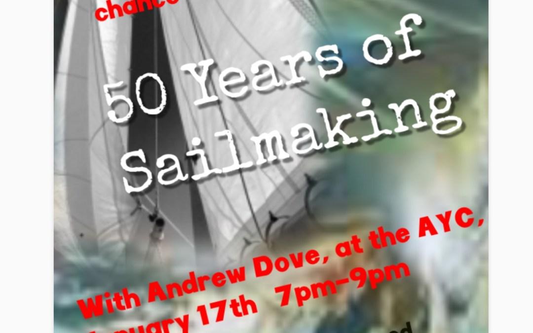 Andrew Dove Talk – 17th January 2019