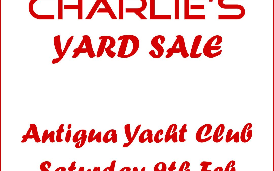 Charlie's Yard Sale