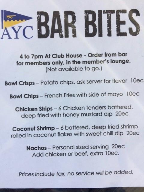 AYC Bar Bites