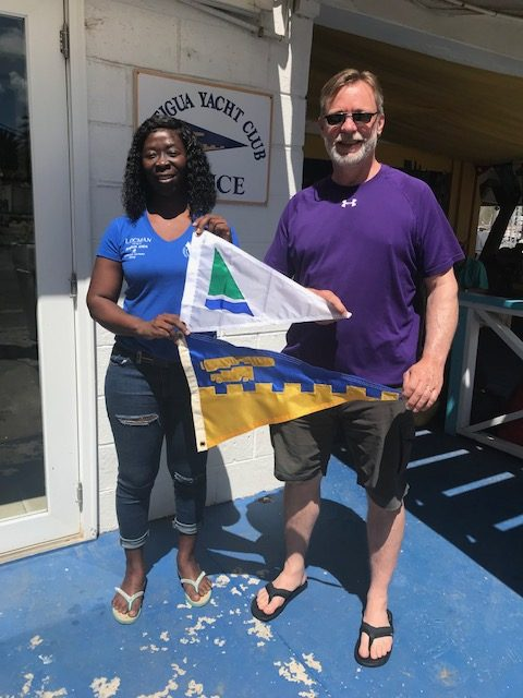 Burgee Exchange with Nepean Sailing Club Of Canada