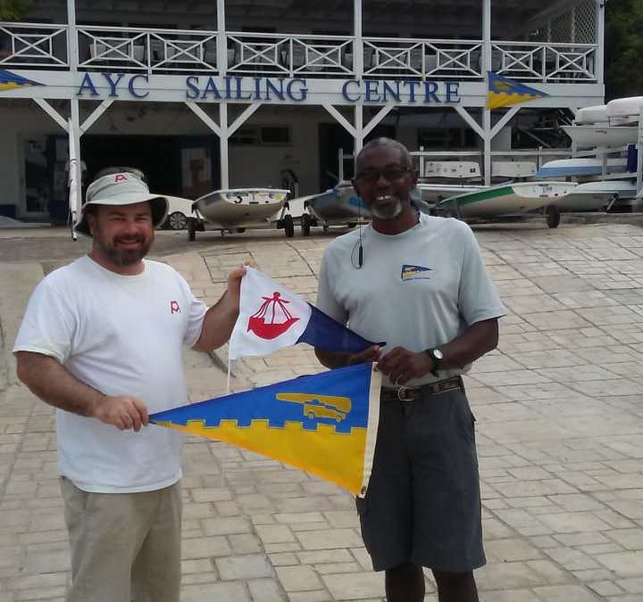 Burgee Exchange with Lymington Town Sailing Club based in the UK