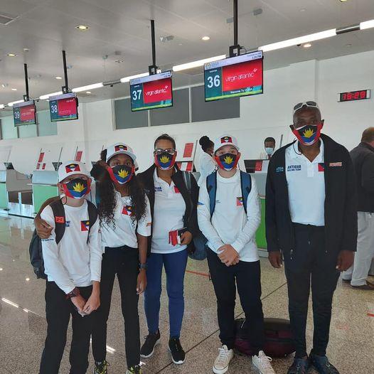 Team Antigua off to Italy!