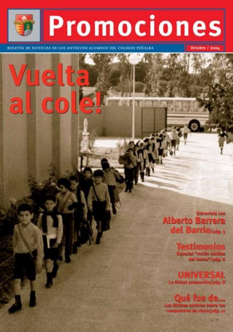 Portada de Promociones Nº 03. Octubre 2004