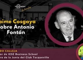 Jaime Cosgaya (Olimpo 1998) publica una biografía sobre Antonio Fontán