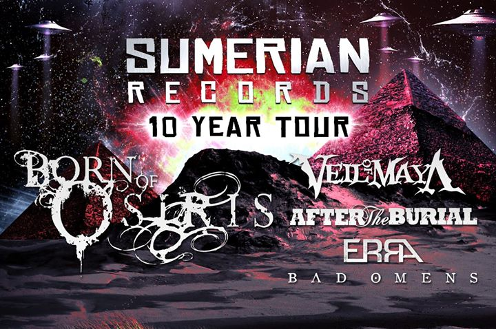 SUMERIAN RECORDS 10 YEAR TOUR