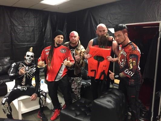 Monster Energy AFTERSHOCK alumni Five Finger Death Punch